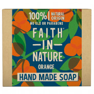 Faith in Nature Orange Hand Soap Bar 100 g