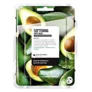 Farmskin Superfood Salad Facial Avocado Softening Sheet Mask 15 ml