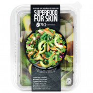 Farmskin Superfood Salad Facial Avocado Sheet Mask 7 Stück