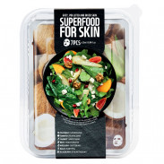 Farmskin Superfood Salad Facial Coconut Sheet Mask 7 Stück