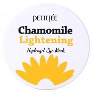 Petitfee Chamomile Lightening Hydrogel Eye Mask 30 Stk.