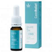 CannRelief Pure 5% Bio-Hanfsamenöl mit CBD 10 ml