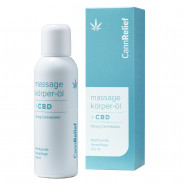 CannRelief Massage- und Körperöl mit CBD 100 ml