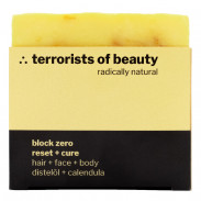 terrorists of beauty block zero - reset + cure Seife 100 g