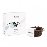 Bellody Original Hair Ties Mocha Brown 4 Stück