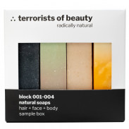 terrorists of beauty Sample Box 4x50 g