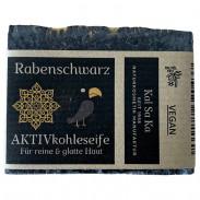 Kal Sa Ka Aktivkohleseife Rabenschwarz 75 g
