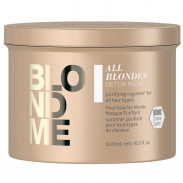Schwarzkopf Blondme All Blondes Detox Mask 500 ml