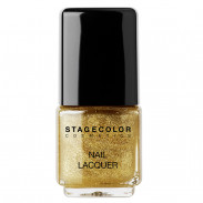 STAGECOLOR Nail Lacquer - Golden Glitter