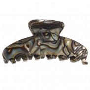 Alexandre de Paris Pince Medium Onyx Timeless 9 cm