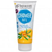Benecos Natural Showergel Sanddorn & Orange 200 ml