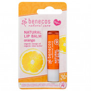 Benecos Natural Lip Balm Orange 4,7 g