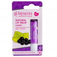 Benecos Natural Lip Balm Cassis 4,7 g