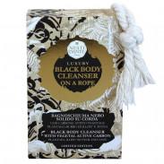 Nesti Dante Luxury Black Body Cleanser/Rope 150 g