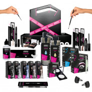 andmetics Mobile Brow Bar with Cosmetics
