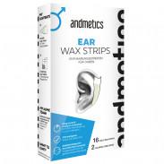 andmetics Ear Wax Strips 8 Paar
