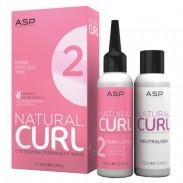 ASP Affinage Natural Curl Perm Lotion No.2 + Fix 2 x 100 ml