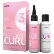 ASP Affinage Natural Curl Perm Lotion No.3 + Fix 2 x 100 ml