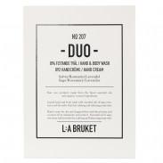 L:A BRUKET 207 Duo Liquid Soap & Hand Cream Salvia, Rosmarin & Lavendel  2 x 190 ml