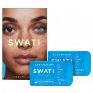 Swati Kontaktlinsen Aquamarine 2 Stück