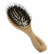 Kent Ovale Gummikissen-Haarbürste