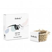 Bellody Original Haargummis Champagne Beige 4 Stück