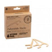 Hydrophil Zahnseidestick aus Bambus-Flosser 20 Stück