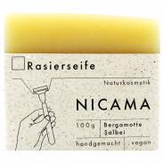 Nicama Rasierseife Bergamotte-Salbei 100 g