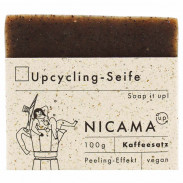 Nicama Upcyclingseife Kaffeesatz 100 g