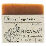 Nicama Upcyclingseife Orangenschale 100 g