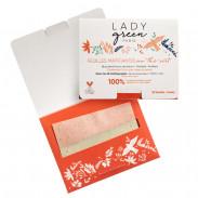 LADY green Tea Oil Blottimg Papers 50 Stück