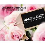 Hagel Geschenk-Gutschein Rosa Rosen