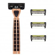 Shave-Lab Set TRES Black Edition Gold Rush P.6+1 Men