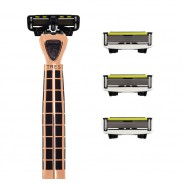 Shave-Lab Set TRES Black Edition Gold Rush P.6 Men