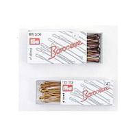 Baronesse Haarklemmen 6,5 cm dunkelblond, 12er-Pack