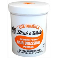 Black & White Lite Formula Hair Dressing Pomade