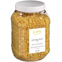 X-EPIL Warmwachs Perlen gelb
