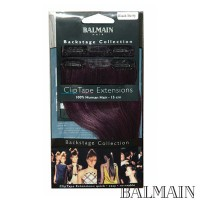 Balmain Clip Tape Extensions 15 cm Blackberry;Balmain Clip Tape Extensions 15 cm Blackberry