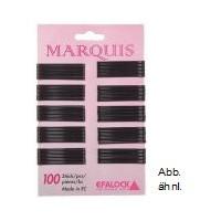 Efalock Marquis 4 cm schwarz 100 Stk Haarklemme