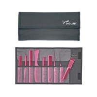 Jaguar Kamm-Set A-Line pink-metallic