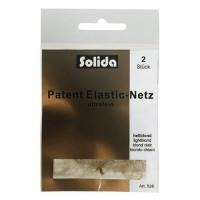 Comair Solida Haarnetz Dunkelbraun 2 Stück