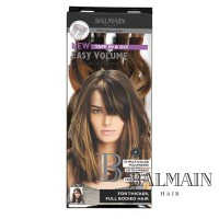 Balmain Easy Volume Tape Extensions Chocolat Brown