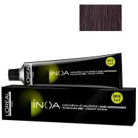 L'Oréal Professionnel INOA 4,26 mittelbraun irise rot 60 ml