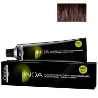 L'Oréal Professionnel INOA 4,56 mittelbraun mahagoni rot 60 ml
