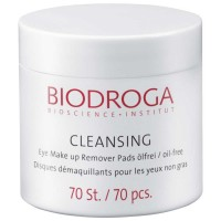 Biodroga Eye Make up Remover Pads 70 Stück