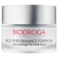 Biodroga -Age Performance Formula  Aufbaupflege Nacht