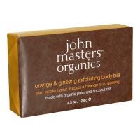 john masters organics Bodycare Orange & Ginseng Exfoliating Body Bar 128 ml
