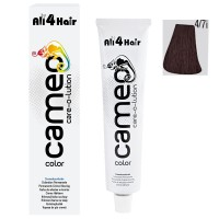 LOVE FOR HAIR Professional cameo color care-o-lution 4/7i mittelbraun braun-intensiv 60 ml