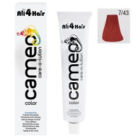 Cameo Color Haarfarbe 7/43 mittelblond intensiv rot-gold 60 ml