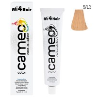 LOVE FOR HAIR Professional cameo color care-o-lution 9/L3 lichtblond leicht-gold 60 ml
